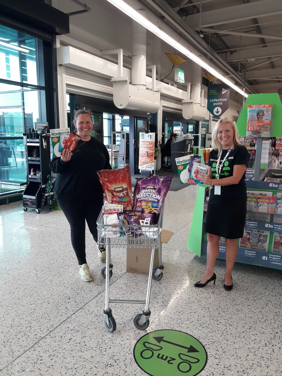 Donation to GVS | Asda Barry