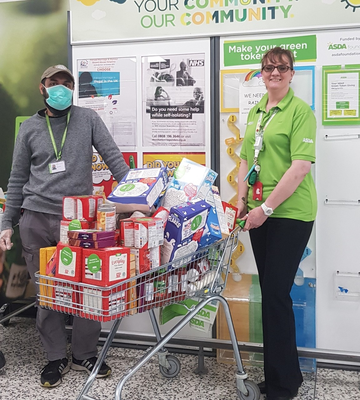 Supporting The Olive School  | Asda Small Heath