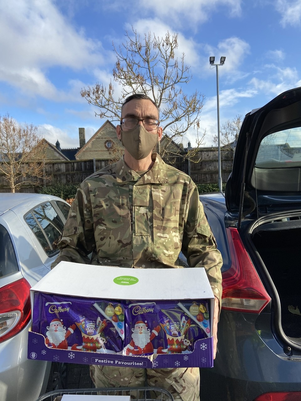 Asda Biggleswade armed forces donation | Asda Biggleswade