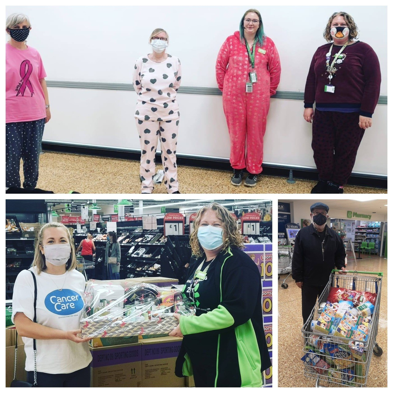 We donated or raised £9,276 to good causes | Asda Lancaster