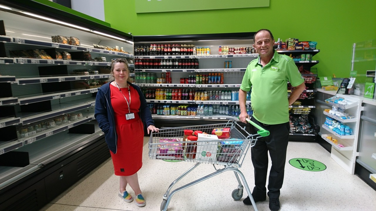 Donation to the Brain Centre  | Asda Filton
