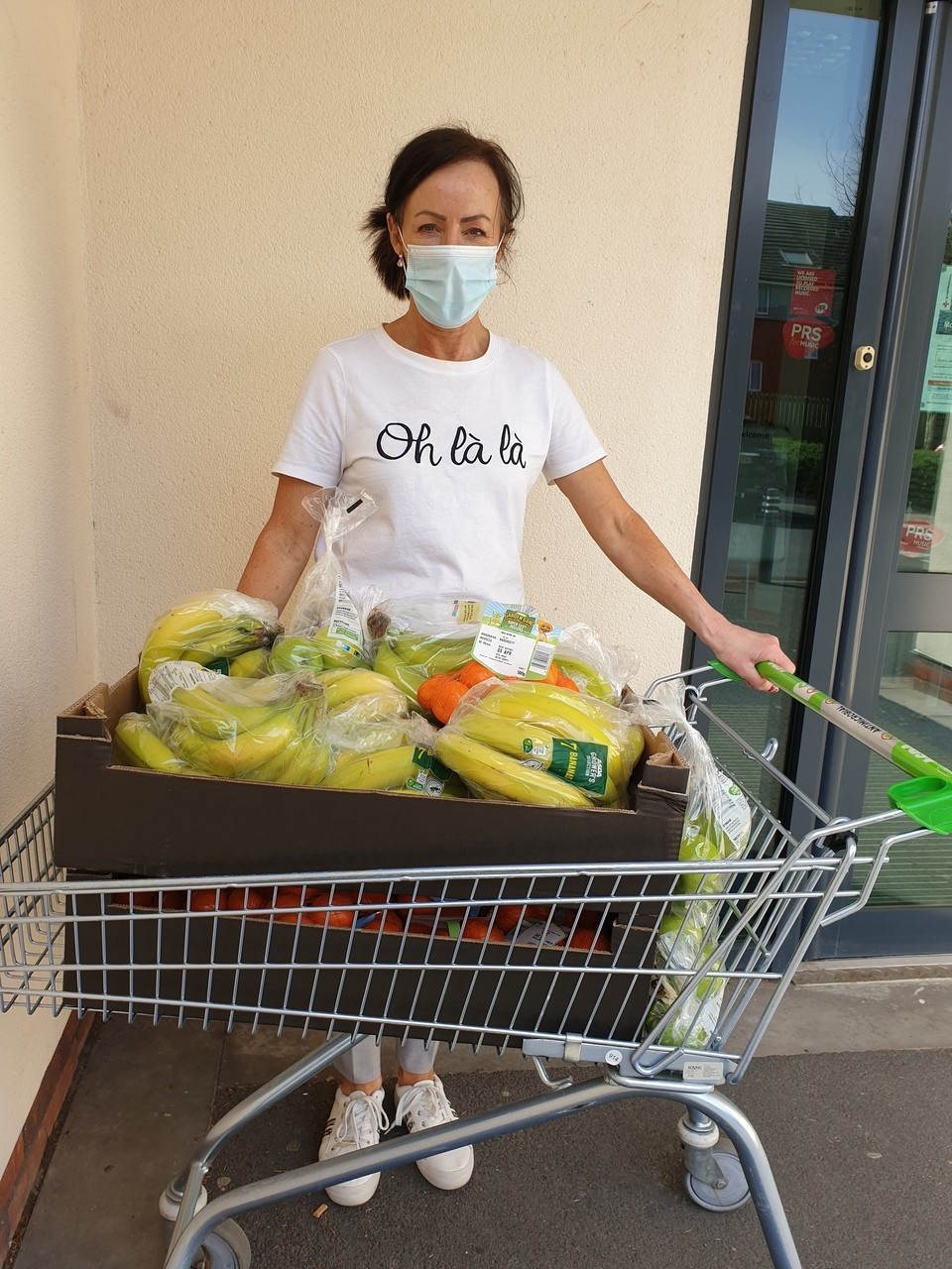 Helping out with healthy fruit for family parcels   Asda Hereford