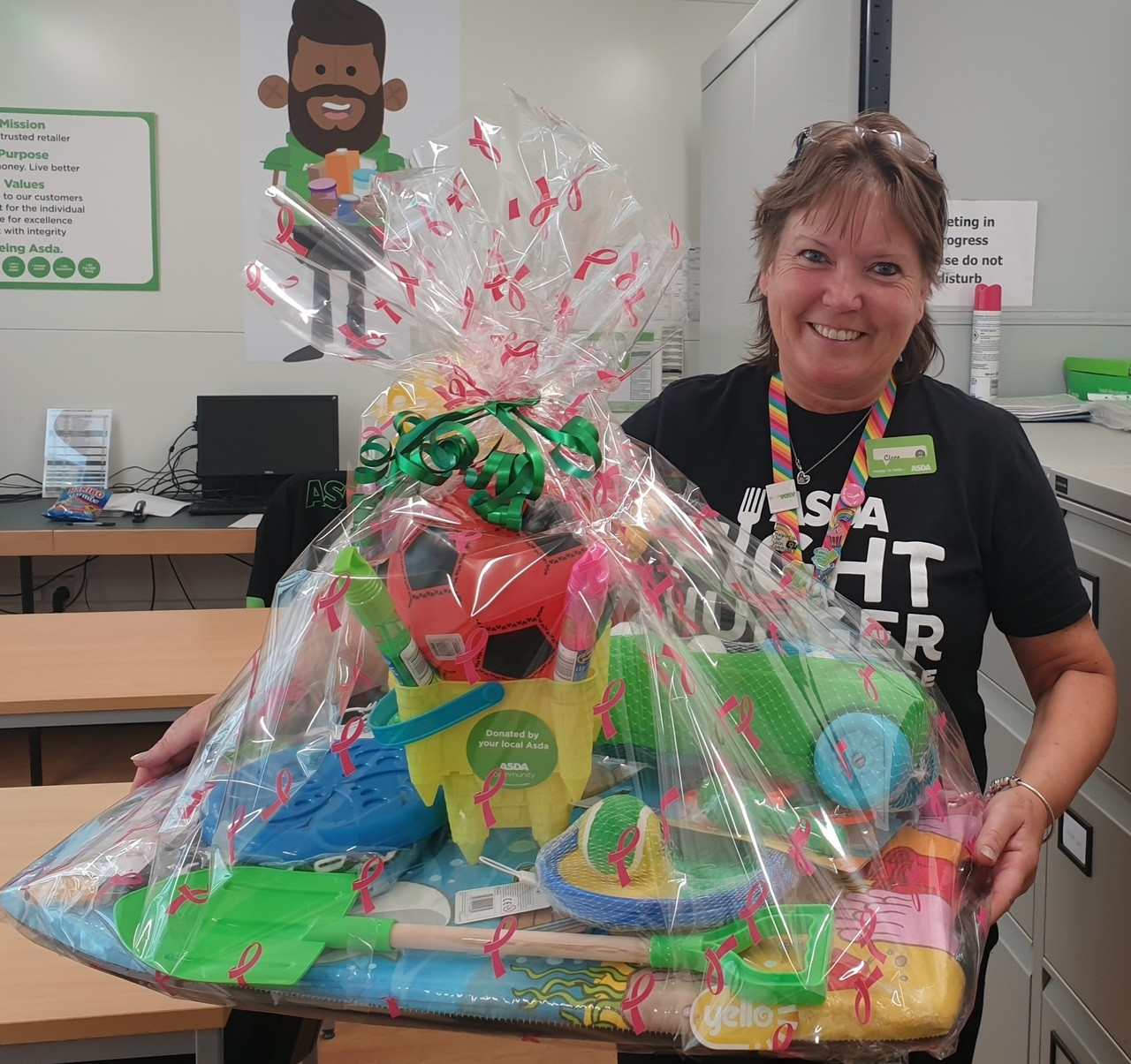 Beach themed prize | Asda Newport Isle of Wight