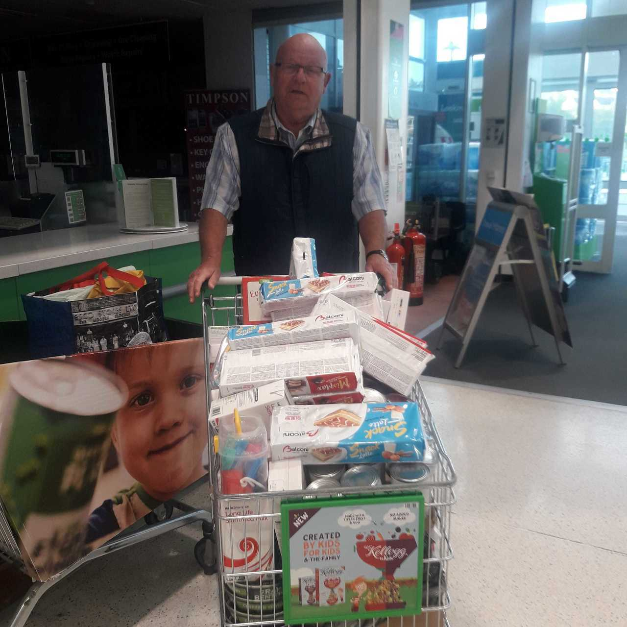 Food bank support | Asda Mansfield