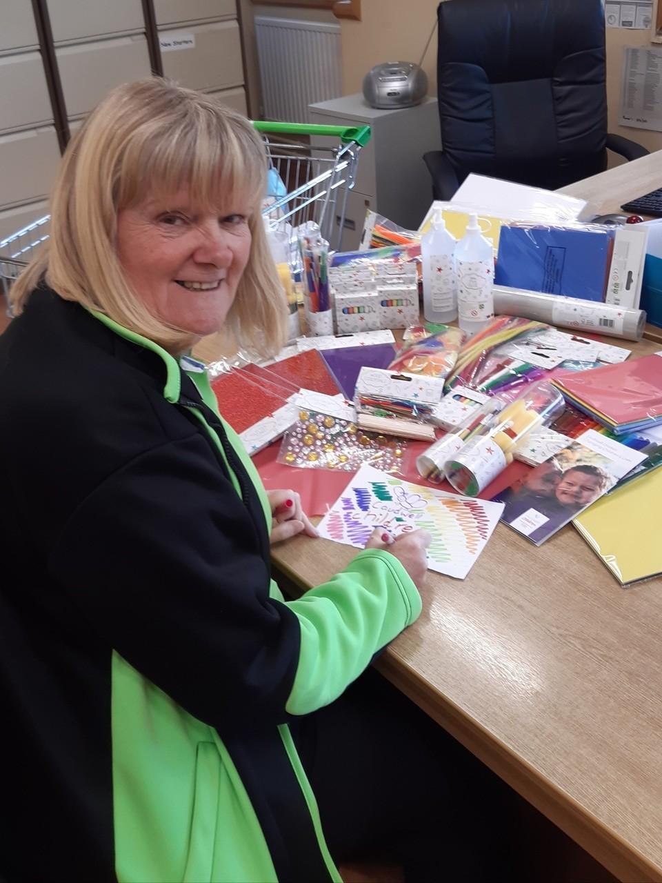 Holiday craft supplies for Caudwell Children | Asda Wolstanton