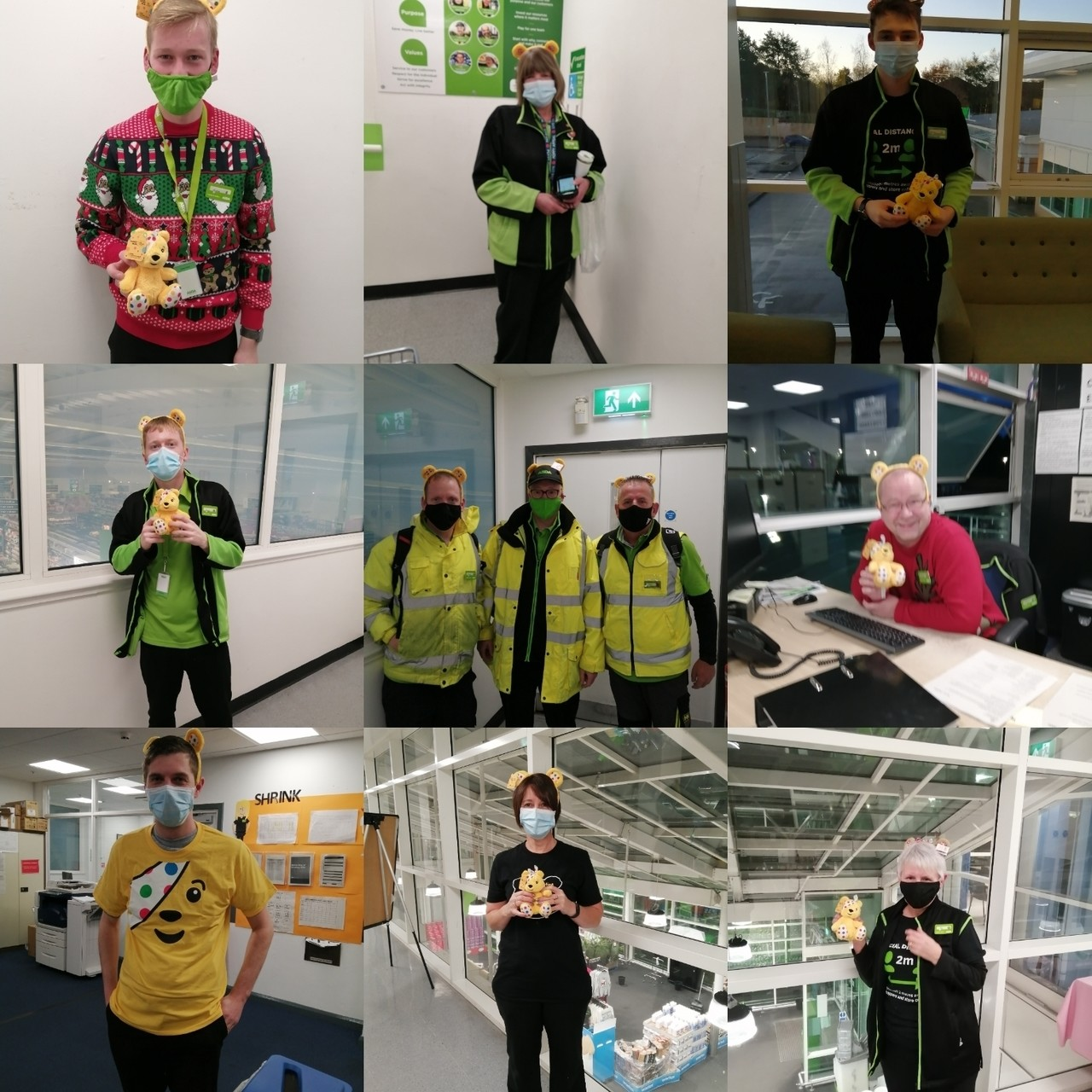 Fantastic support for Children in Need  | Asda Clayton Green