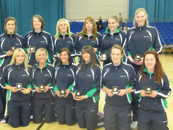 Cheryl Rae from Asda Antrim played netball for Northern Ireland