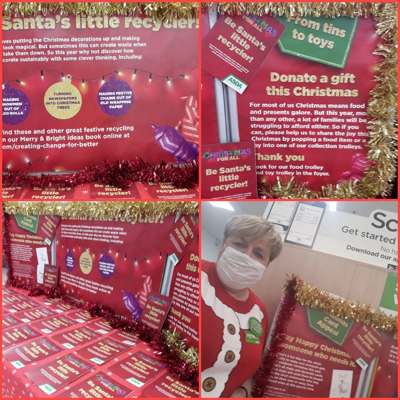 Santas little recyclers | Asda Gosforth