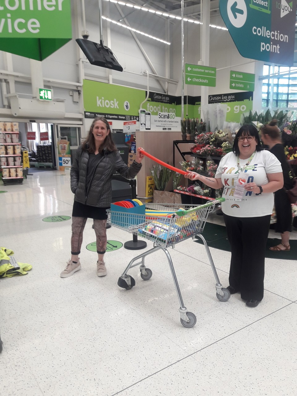 Tolladine mission donation | Asda Worcester