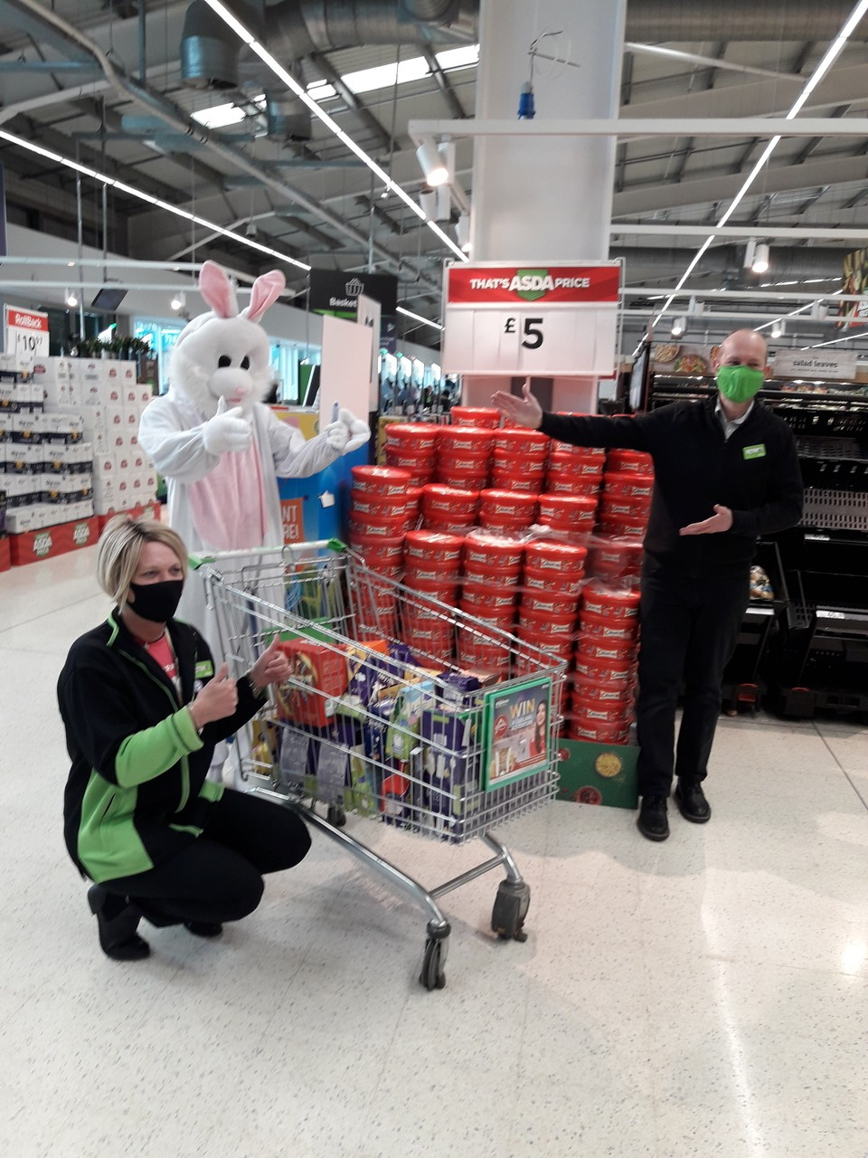 Our last donation of Easter Eggs for the doctors and nurses of UHCW 👍💯 | Asda Coventry