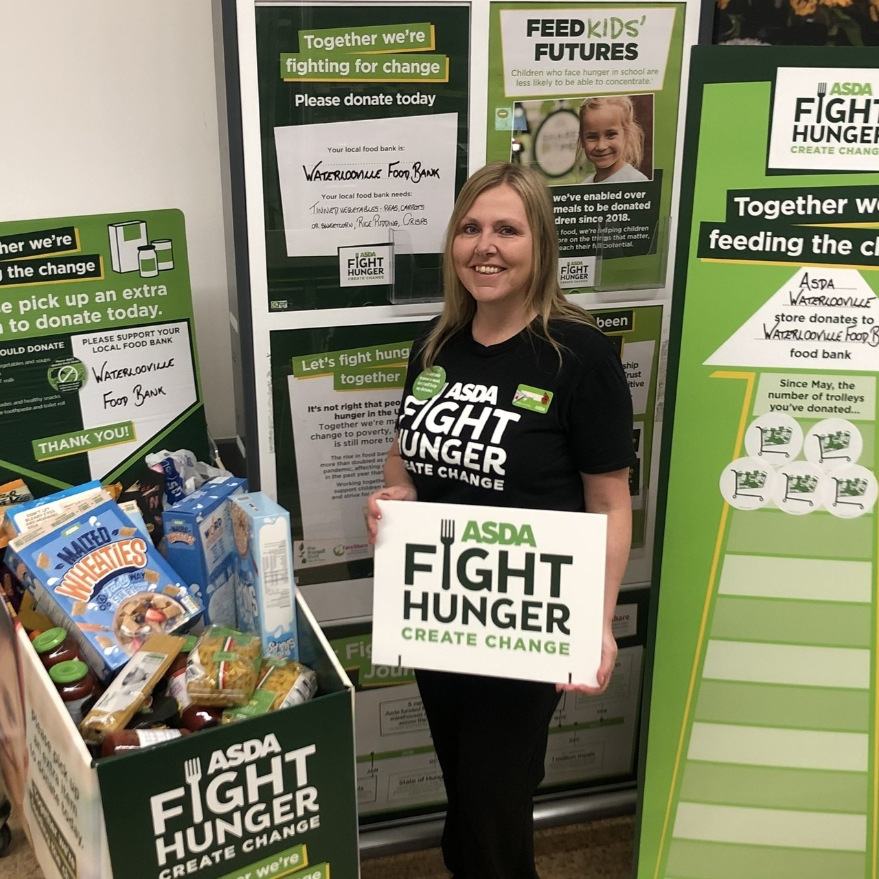 Foodbank support | Asda Waterlooville