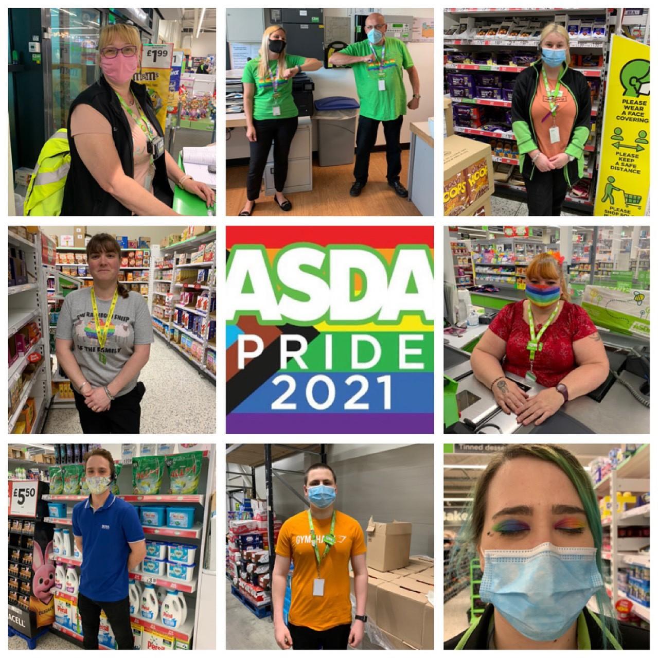 Pride Month celebration | Asda Clacton-on-Sea