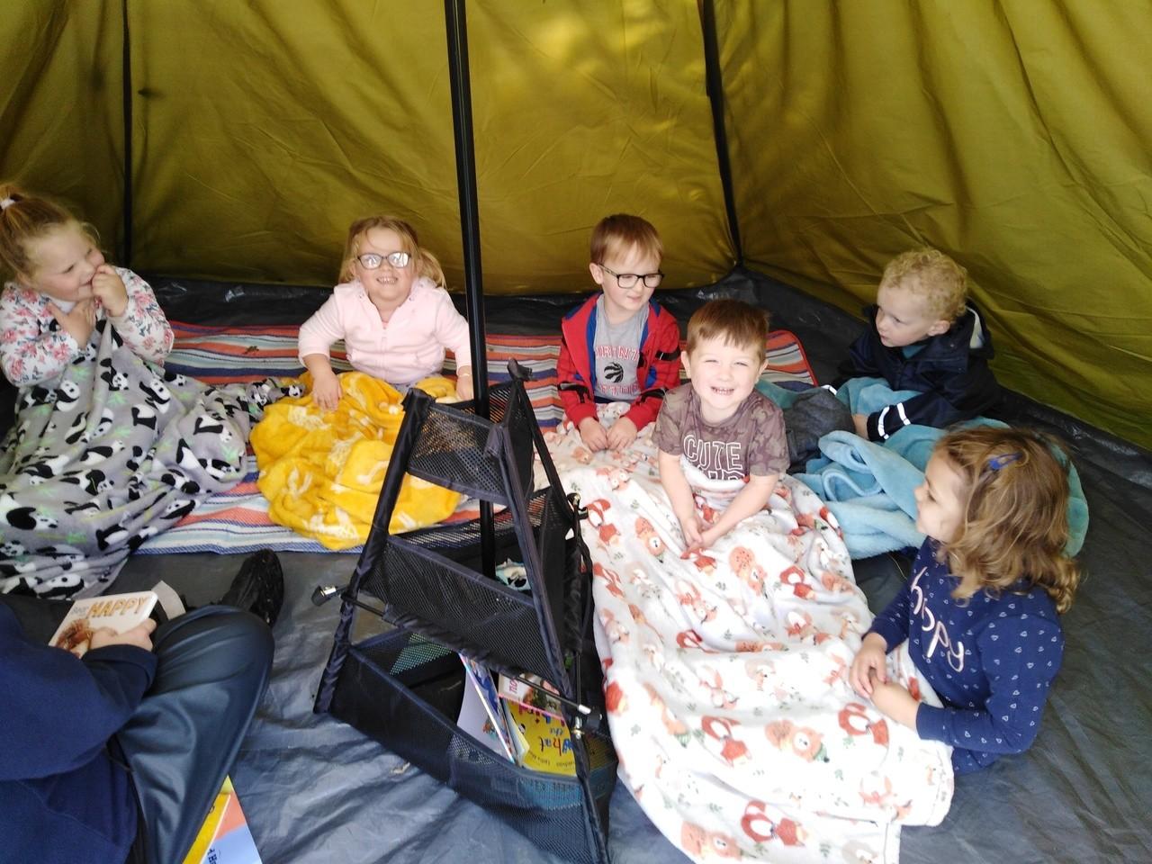 Donating blankets to Dalmuir Nursery | Asda Clydebank