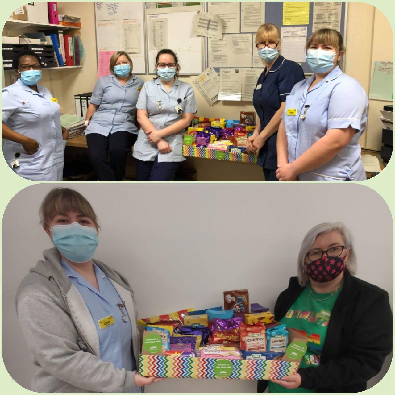 We appreciate our NHS | Asda Donnington Wood