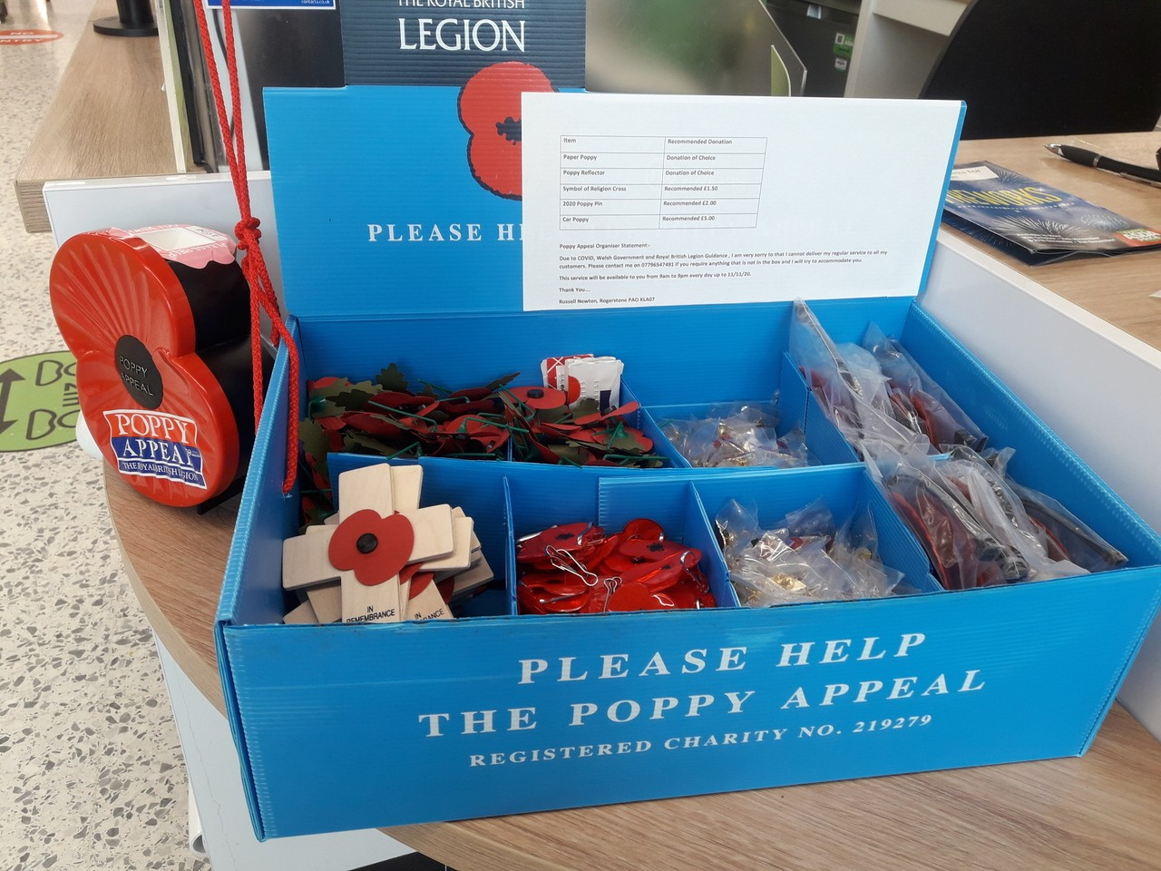 Proud to support the Poppy Appeal | Asda Newport