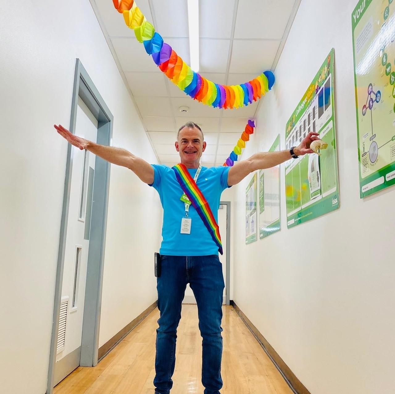 Colleagues celebrate Pride | Asda Rugby