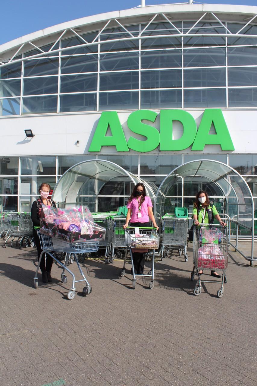 Donations to Royal Bolton Hospital Breast Unit | Asda Bolton