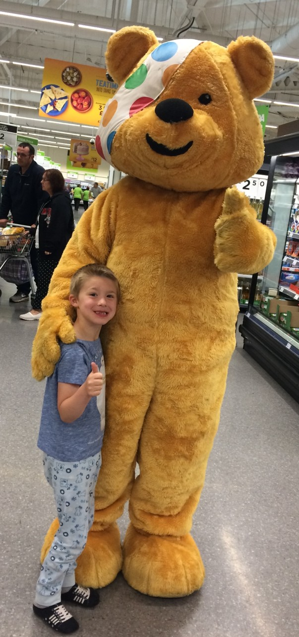 Rylee and Pudsey