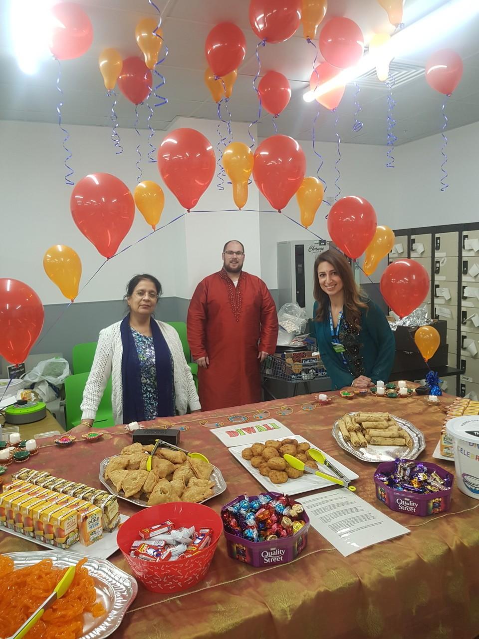 Diwali celebrations   Asda Small Heath