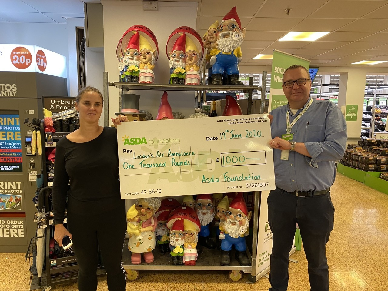 Green token giving winner  | Asda Charlton