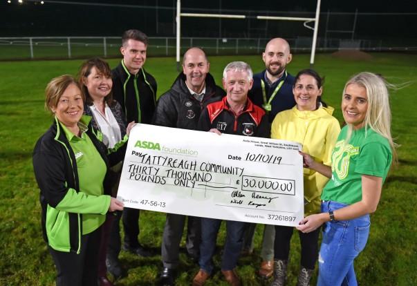 Asda Foundation £30,000 grant to Tattyreagh GAA