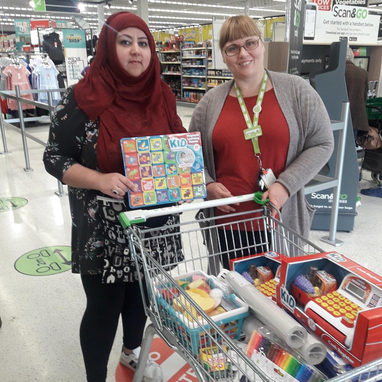 Donations for pre-school children | Asda Peterborough