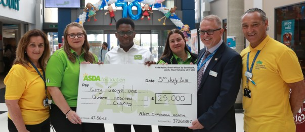 Asda Chadwell Heath celebrates the NHS's 70th anniversary