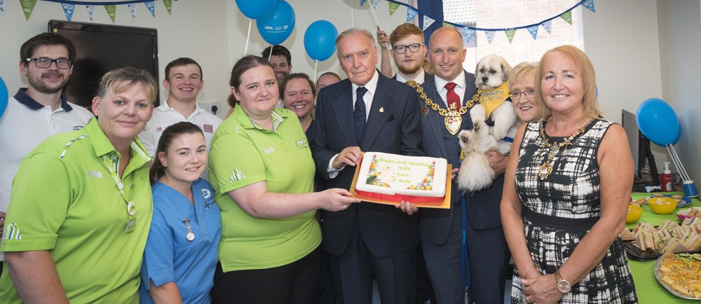 Asda Wrexham celebrates the 70th anniversary of the NHS