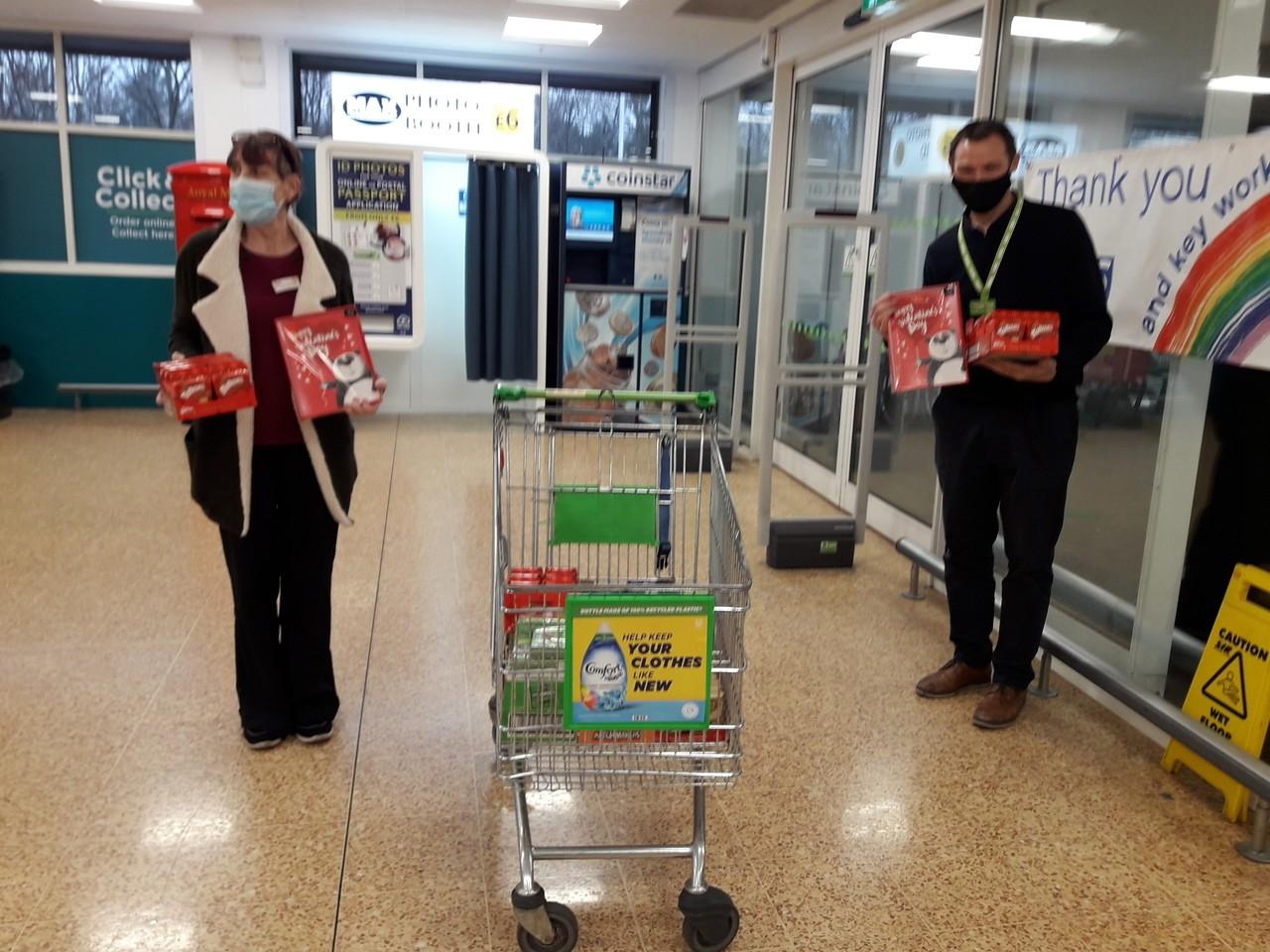 Local care home Valentine donation | Asda Taunton