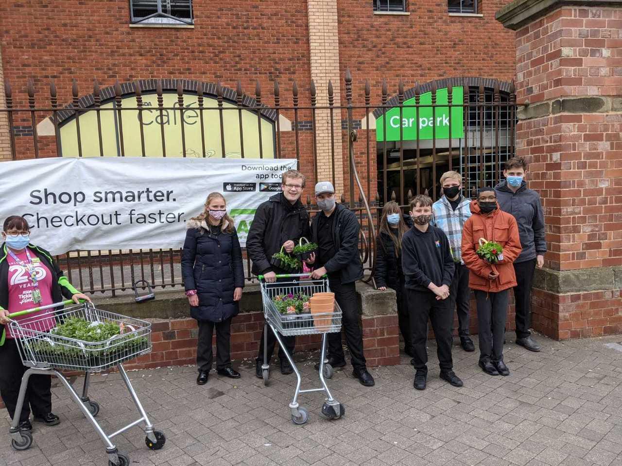 Plant Donation   Asda Worcester