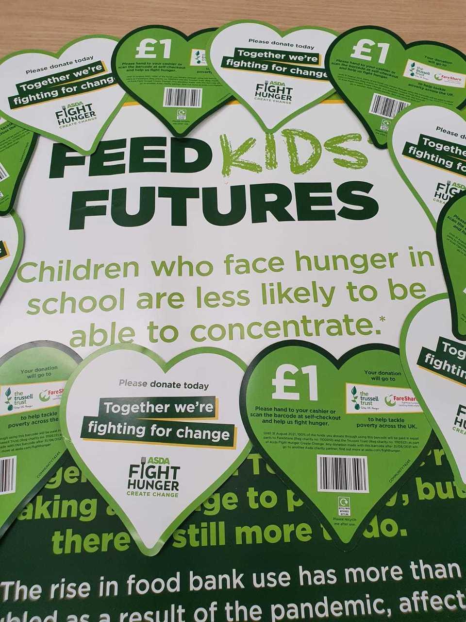 Fight Hunger Create Change | Asda Sheffield Drakehouse