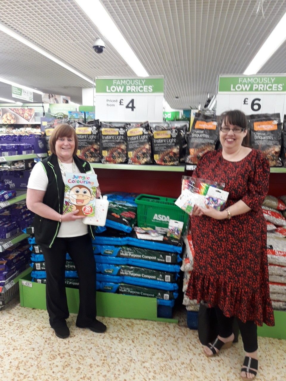 Donation to SS Peter and Paul's Catholic Primary School | Asda Cramlington