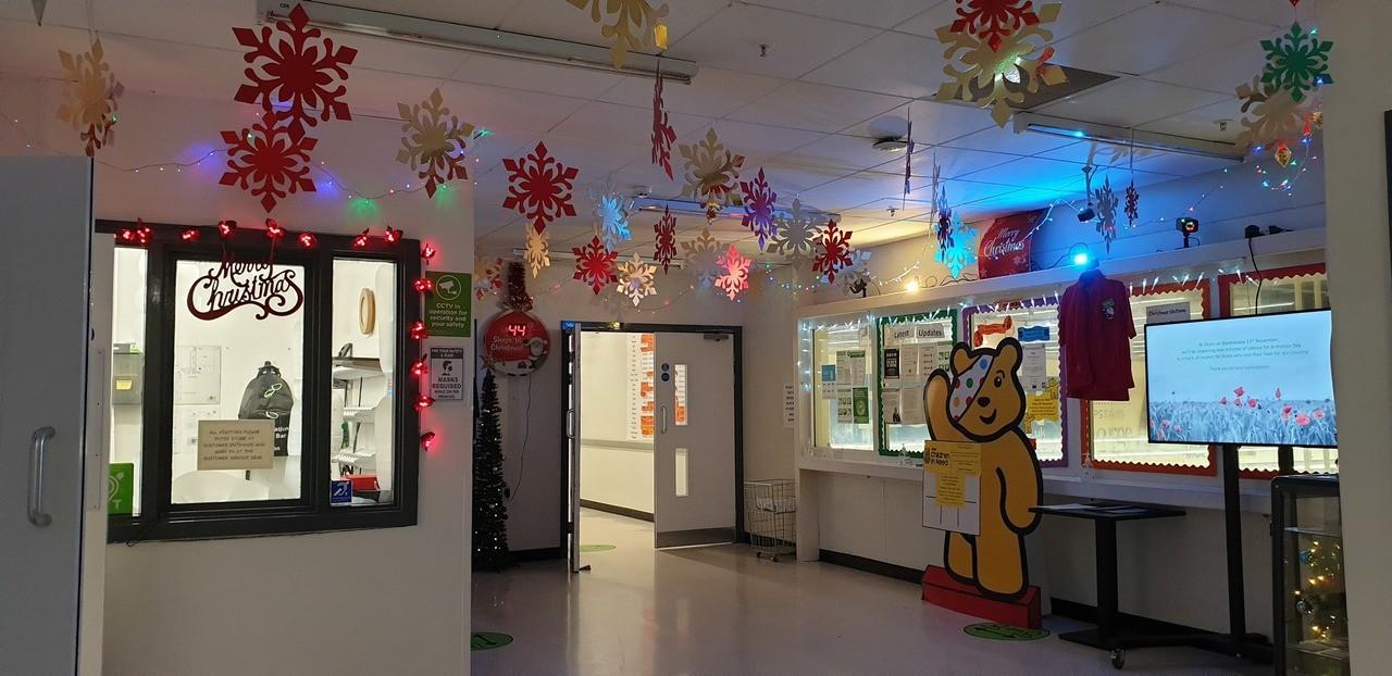 Some Christmas Cheer for Colleagues | Asda Huyton