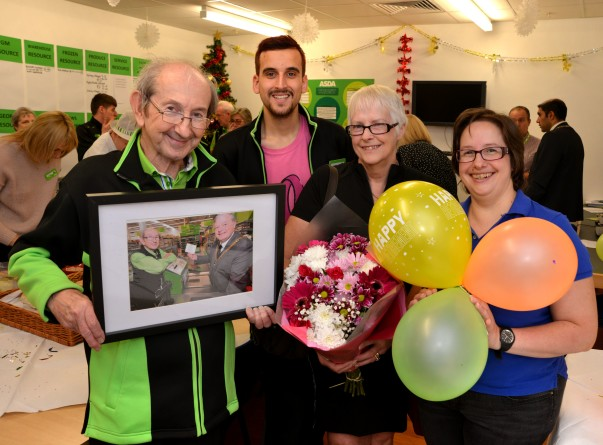 Roy Pennington  retires from Asda Worcester