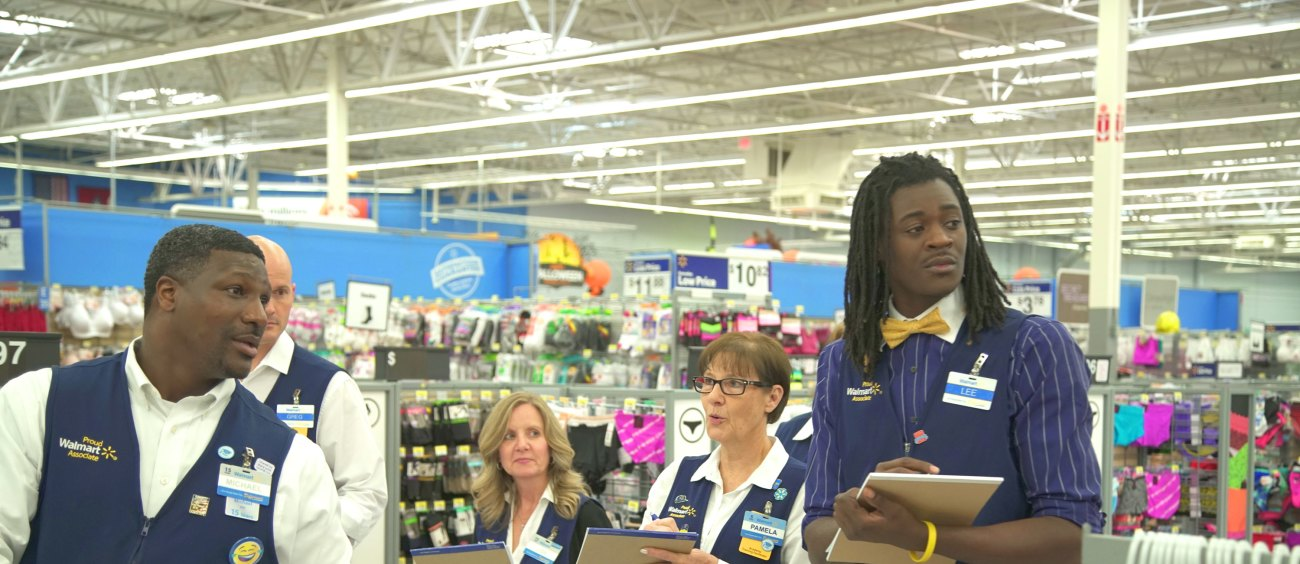 Working At Walmart