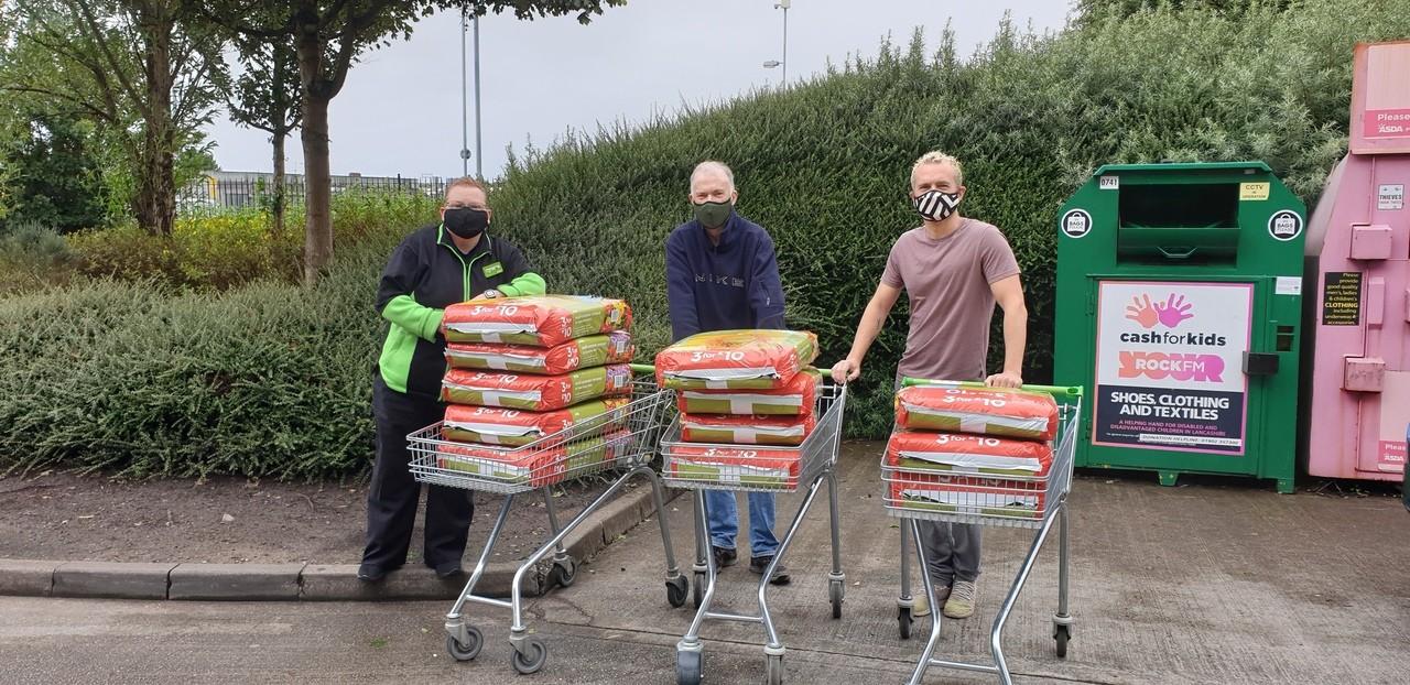 Compost donation | Asda Southport