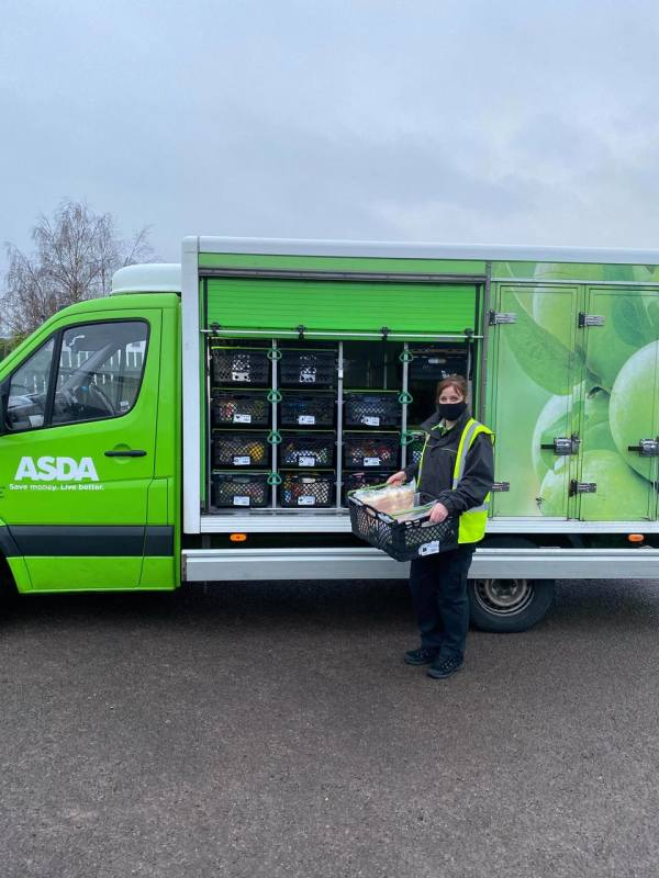 Asda delivery driver Clare Dring loves taking photos on her rounds in Bristol and Bath