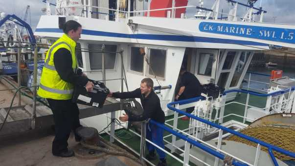 Asda Peterhead deliver to the harbourside