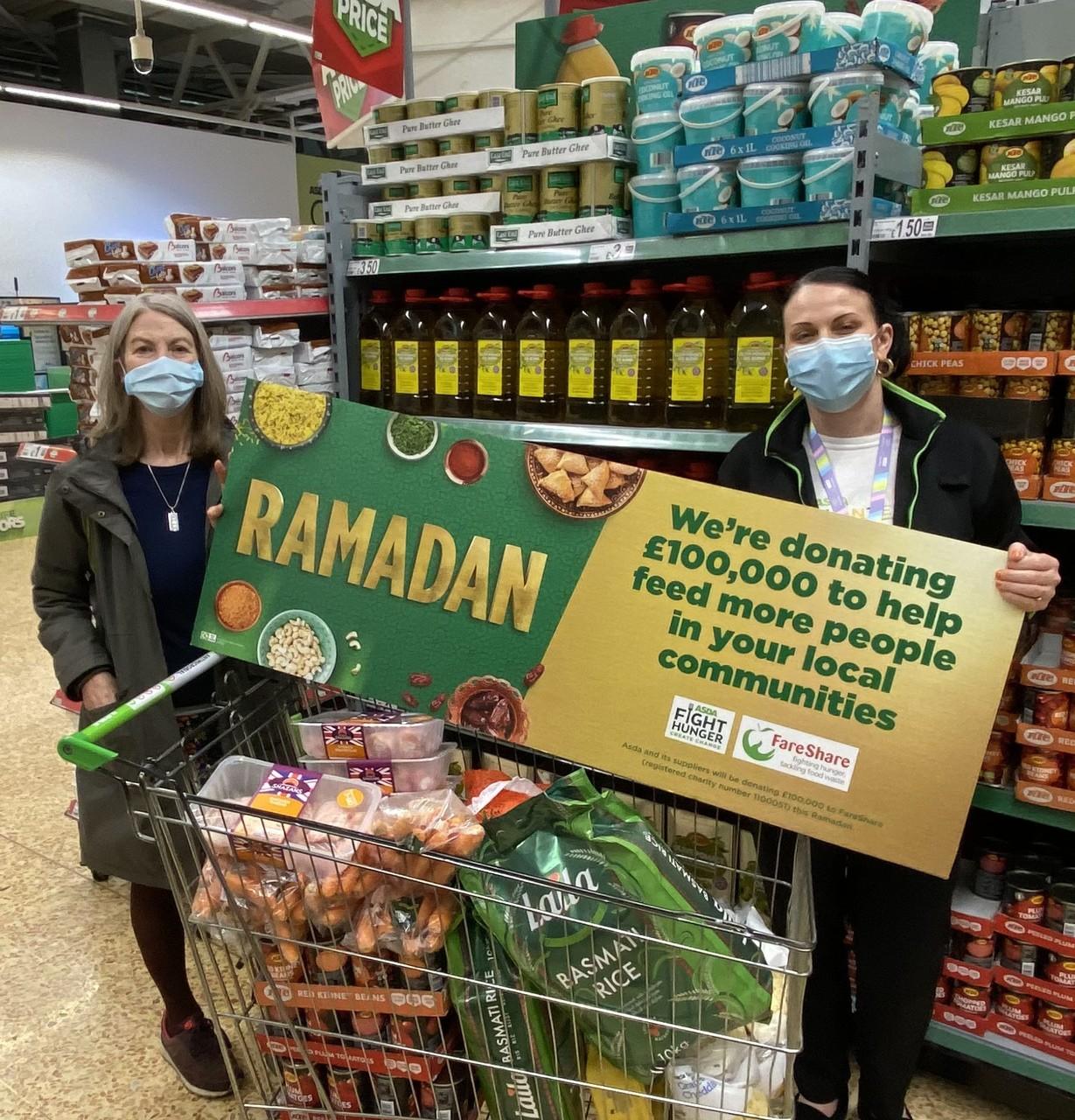 Ramadan with FareShare Gloucester | Asda Gloucester