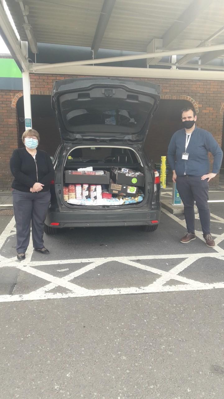 Age UK pick up goods | Asda Darlington