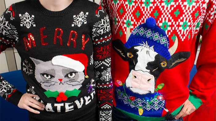 Ugly sweaters from Walmart