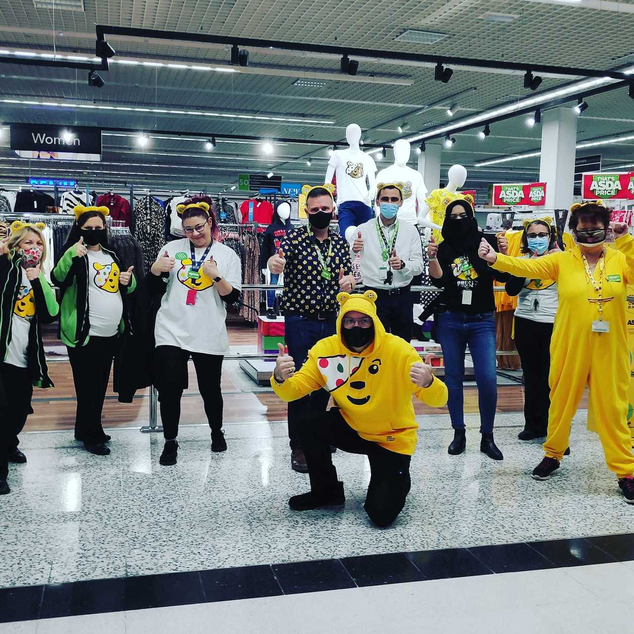Children in Need support | Asda Watford