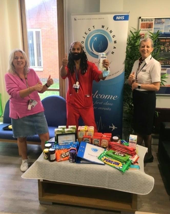 NHS Mill View Care Home donation | Asda Brighton Marina