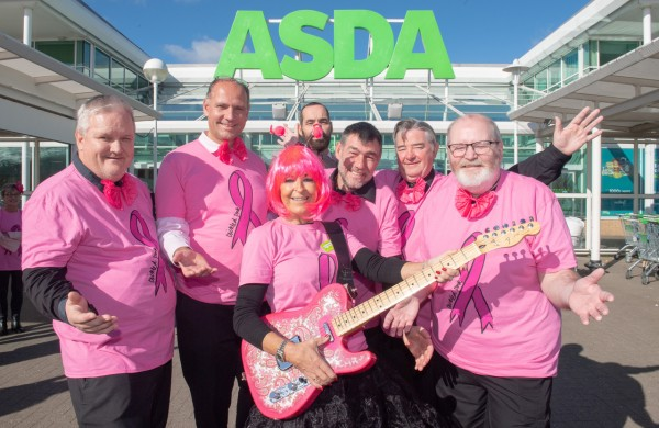 Asda Toryglen colleagues Tickled Pink