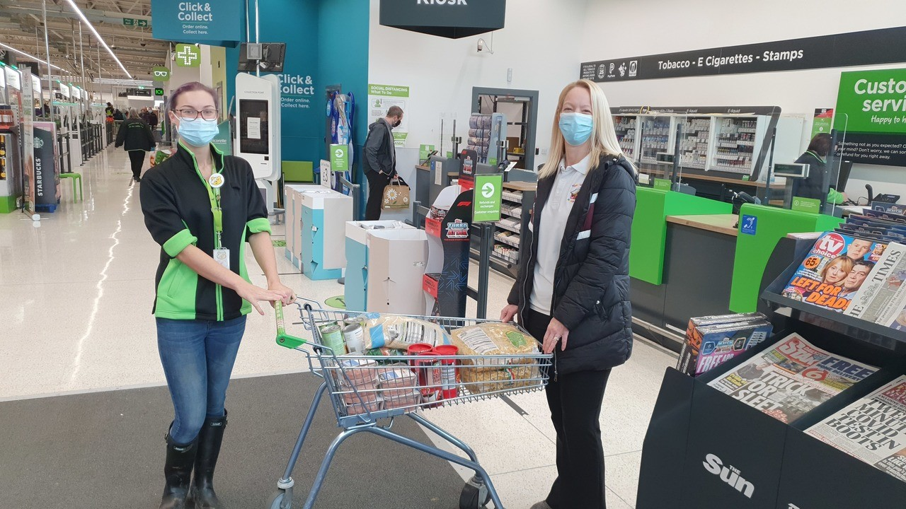 Helping with more free school meals | Asda Bishop Auckland