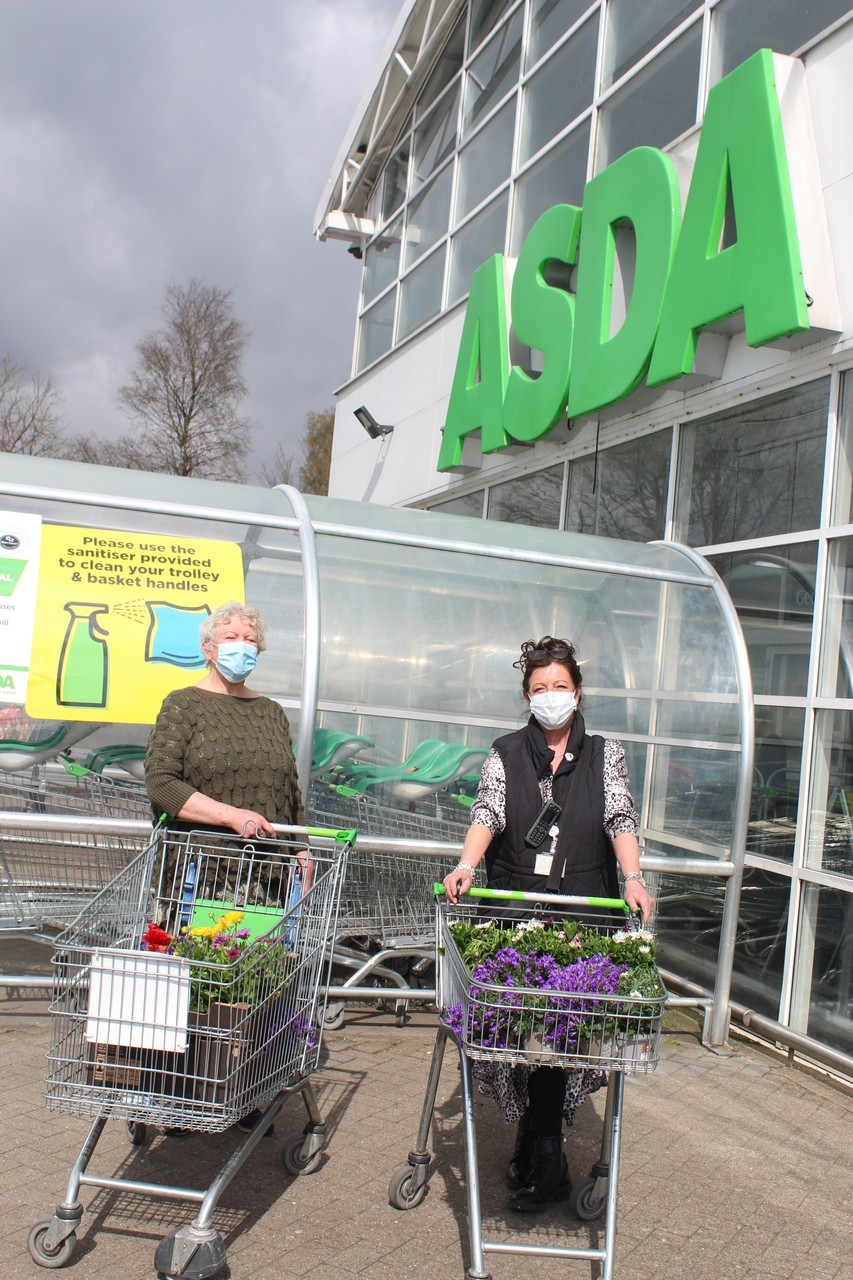 Bolton and Farnworth store donation to the Bolton Guerillas.   Asda Bolton