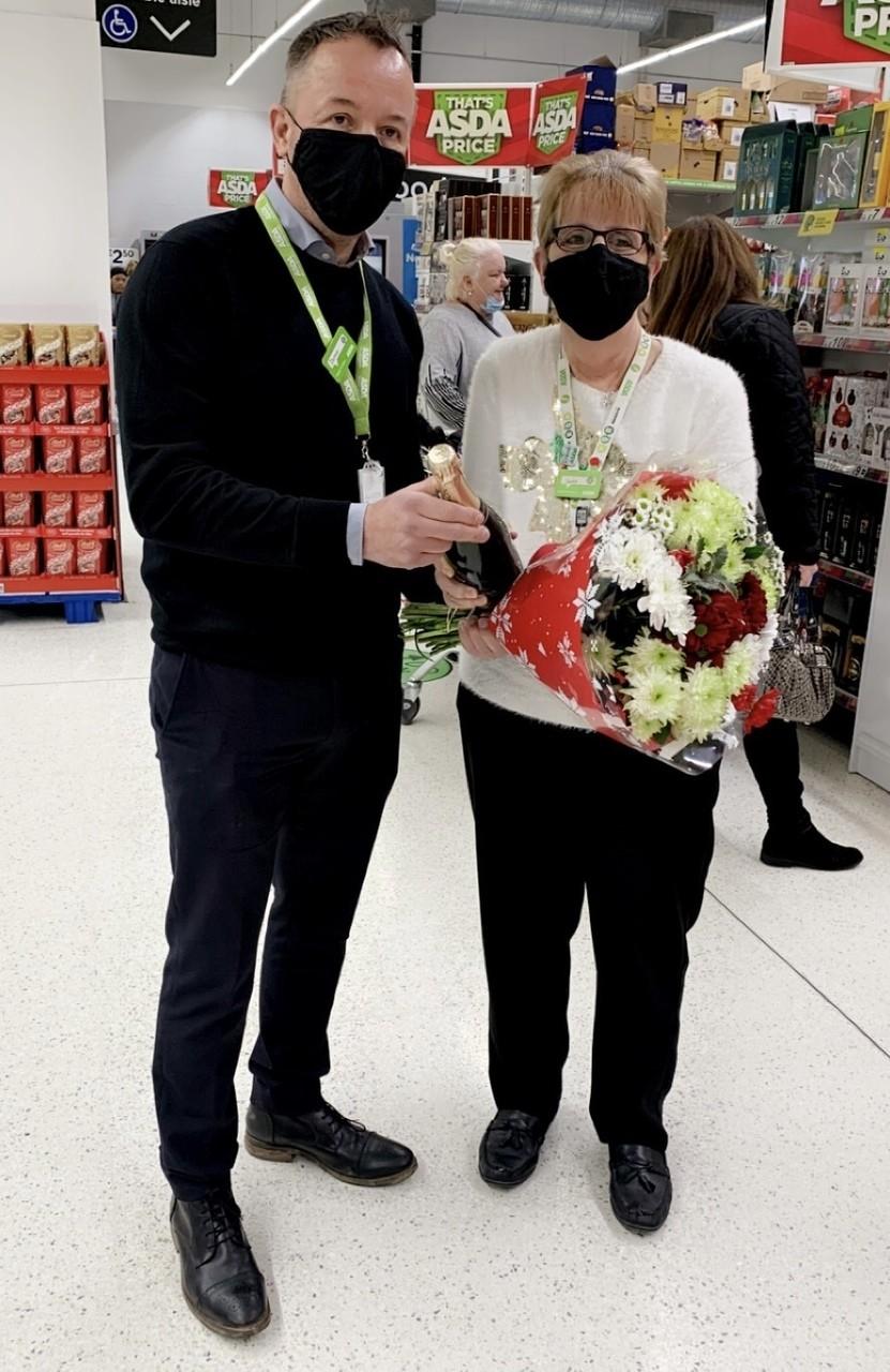 Visit from Roger Burnley and Darren Hunt | Asda Feltham