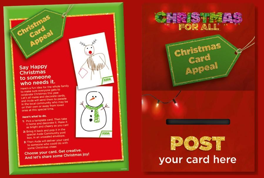 Christmas card Appeal | Asda Glasgow Parkhead Forge