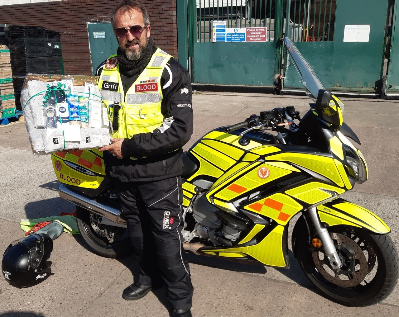 Donation for the Blood Bikes | Asda Wolstanton
