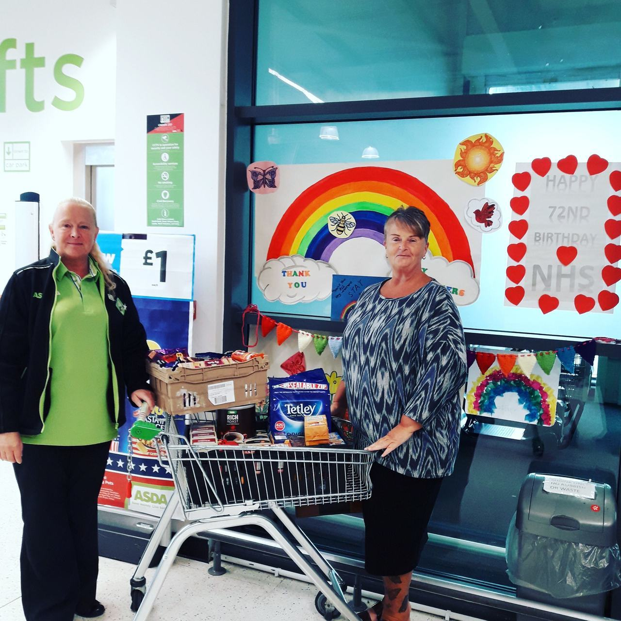 Care boxes for the Critical Heart Care Unit at Salford Royal Hospital | Asda Swinton